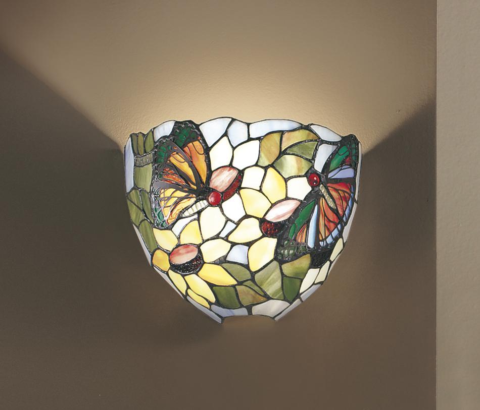 PERENZ PARETE TIFFANY (185.9€) Appliques lampada da parete Lampade da muro